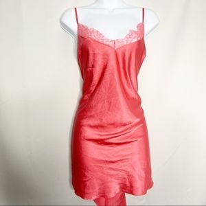 Victoria secret L pink nightie top